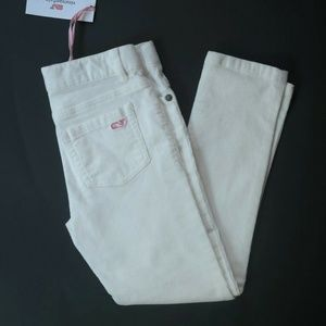 Vineyard Vines Marshmallow Corduroy Pants